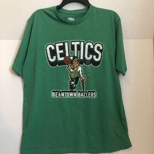 Boston Celtics T-shirt size large